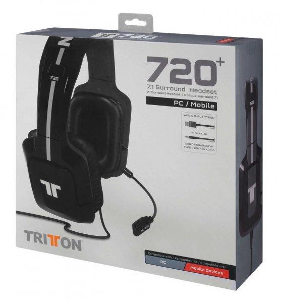 Tritton 720+ 7.1 Surround Headset Schwarz für 92,24 € @Amazon.fr