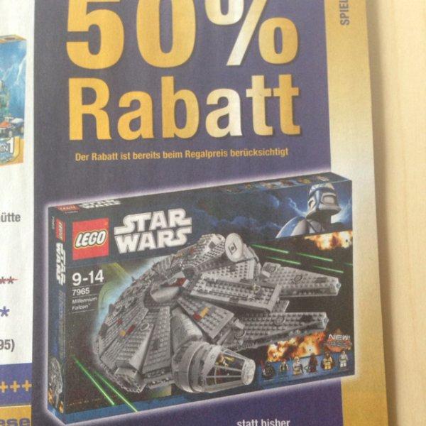 Metro - 50% Rabatt auf Lego Star Wars Millennium Falcon für 75€ ab dem 18.09