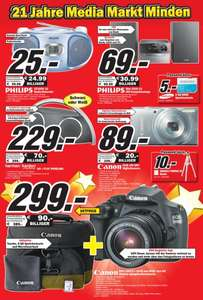 [LOKAL MEDIA MARKT PORTA WESTFALICA] Canon Eos 1200D + 18-55mm DCIII + ACC Kit