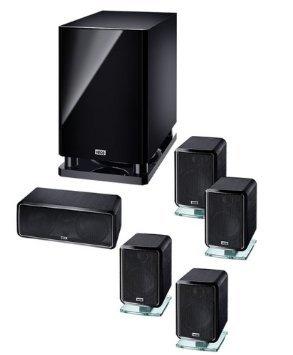 [Amazon] Magnat 1367000 Heco Ambient 5.1 A hochwertiges Aluminium-Gehäuse Heimkinosystem schwarz