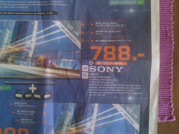 [Saturn Köln] Sony KDL 50 W 815 BSAE2