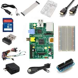 Raspberry Pi Ultimate Starter Kit Modell B