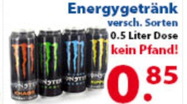 [Lokal] 2 Brüder von Venlo: Monster Energy verschiedene Sorten