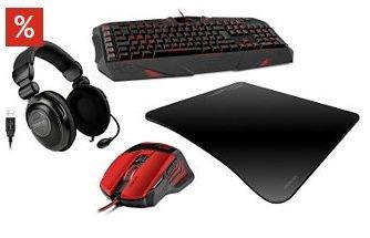 Speedlink Premium Gaming Set (PARTHICA, DECUS, MEDUSA NX 5.1 & SEVANTUS ) für OTTO Neukunden 109,99 € statt 160,89 € (Einzelpreise) - Ersparnis 32%