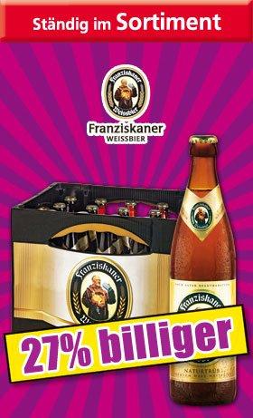 Franziskaner Weißbier (Norma/Offline) [lokal?]