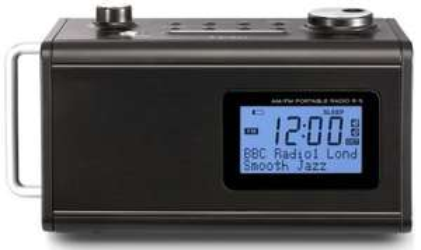 Teac R-5 Tragbares Radio mit Akku in schwarz, weiß oder rot