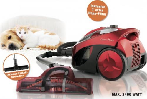 "Clean Maxx Zyklon Staubsauger ""Pet Star Deluxe"" 2400W (B-Ware)"