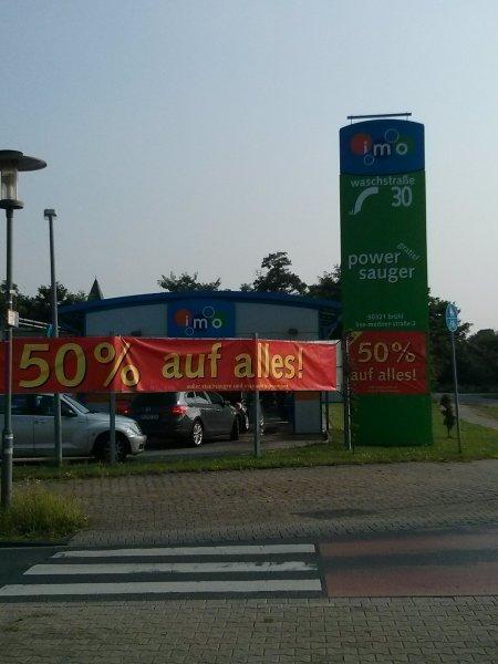 [Diverse Standorte] IMO Autowäsche mit 50% Rabatt!
