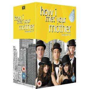 How I Met Your Mother Season 1-5 (15DVDs) inkl. Versand für ca. 36,55€