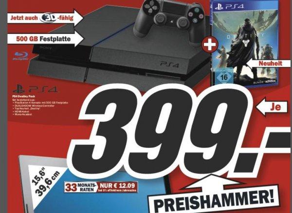 [Medimarkt - Deutschlandweit] Playstation 4 + Destiny // 09.09.