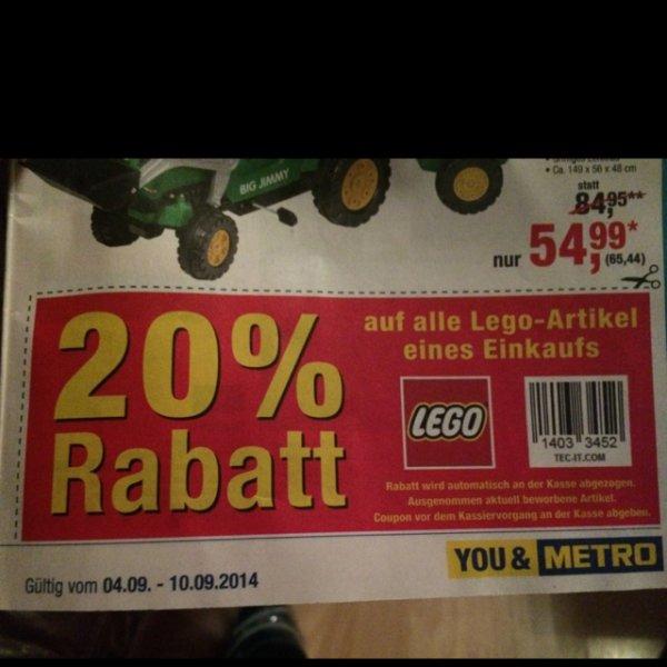 Lego 20% Metro