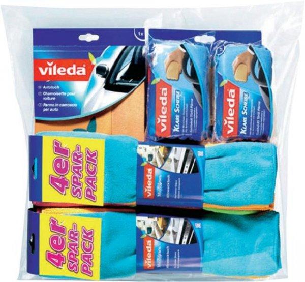 Vileda Auto-Tücher-Set 10-teilig 146858 10 St. für 22,86€ frei Haus @ Voelkner