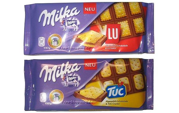 [lokal] Milka Lu & Tuc Tafelschkolade 87 g @ Kaufland Lichtenfels