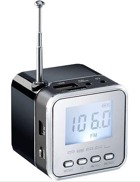 auvisio Mini-MP3-Station MPS-550.cube für € 3,90 +  4,90 Versand @ Pearl