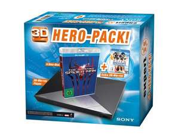 Bundesweit bei Expert: SONY 3D Blu-ray Player BDP-S 4200B Hero-Pack