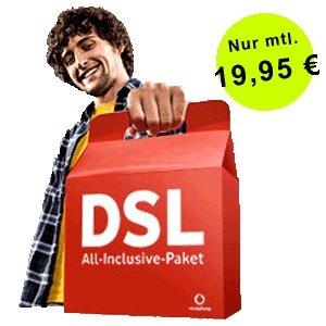 Vodafone DSL Zuhause M 19,99€ Mtl.+160€ Cashback/Gutschrift