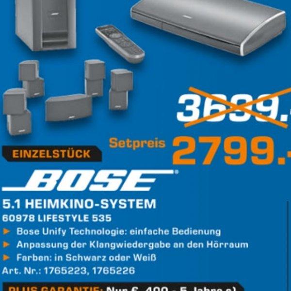 Saturn Ludwigshafen - Bose Lifestyle 535 - 2799€ - Einzelstück