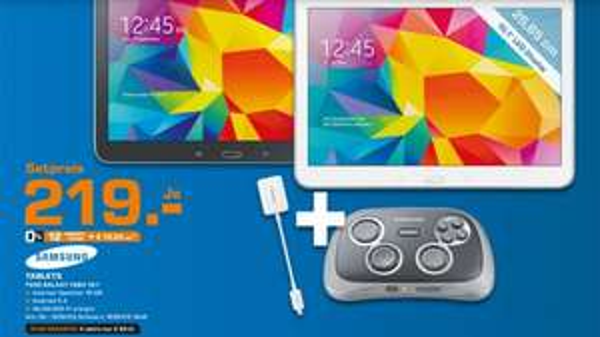 Samsung Galaxy Tab 4 10.1 WiFi + Samsung Gamepad [Lokal Saturn]