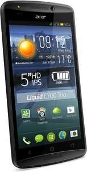 "[MM Online] Acer Liquid E700 Trio - 5"" IPS, 2GB RAM, 4.4 und Triple-SIM"
