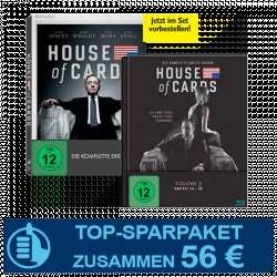 Cinema Jahresabo + House of Cards Season 1 + 2 für 56€
