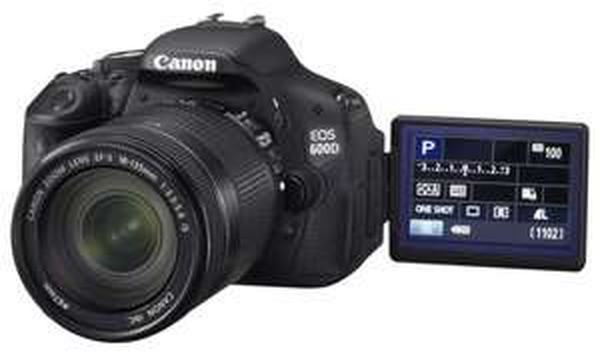 Hem Expert Wiesloch - Canon Eos 600D mit 18-55mm Kit Objektiv
