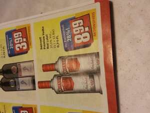 [REWE CENTER] Smirnoff Premium Vodka 8,99 - Three Sixty Vodka 9,99