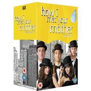 How I Met Your Mother Staffel 1-5 (15 x DVD)  für ca. 34.39€ @ amazon.uk