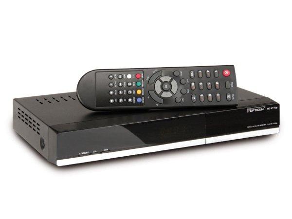 HDTV SAT-Receiver OPTICUM HDX110p, PVRready, CONAX