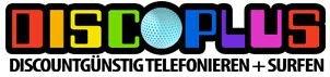 Discoplus 50 Frei-Minuten, 50 Frei-SMS, 200 MB Daten O²-Netz, monatlich kündbar