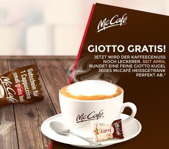 NETTO Markendiscount 9er GIOTTO Mandel + 1 McCAFÉ CAPPUCCINO gratis --> 39cent