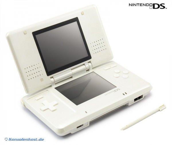 Nintendo DS - Konsole #weiß (inkl. Netzteil) (gebraucht) TagesDeal