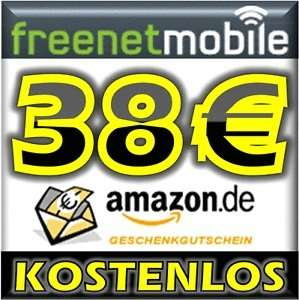 freenetMobile DUO SIM-Karte + 38,00 EURO AMAZON GUTSCHEIN