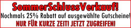 [NRW] Viele 50€-Gutscheine für nur 20,75€ (inkl Versand) im Angebot!