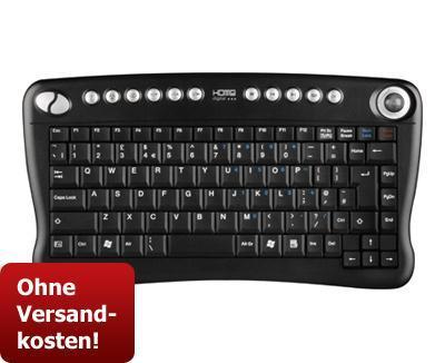 ZACKZACK hat das Sharkoon HD Wireless Keyboard für 29,99€ (n.P. 45,80€ also 34% günstiger!)