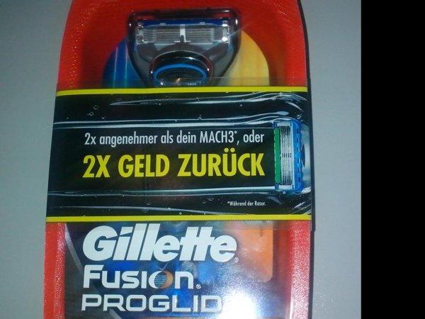 [GzG] GILLETTE Fusion Proglide / Power testen + DOPPELT Geld zurück! KNALLER