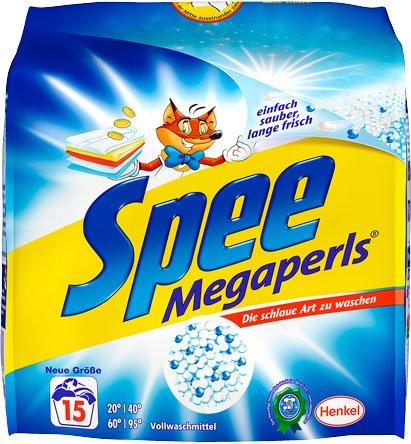 [KAUFLAND ÜBERLOKAL?] 4x Spee Megaperls 15WL für 1,22€ = 0,08€/WL (60WL insgesamt)