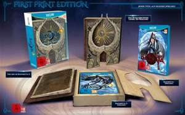 First Print und Special-Edition mit Bayonetta 1 und 2 Wii U