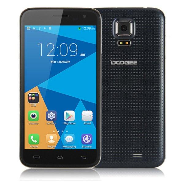 Doogee DG310 (MTK6582, 5 Zoll 854*480, Android 4.4, DualSIM) für 68.99 Update
