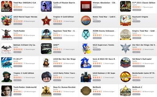 42 Spiele für Mac reduziert [ Mac- Appstore]