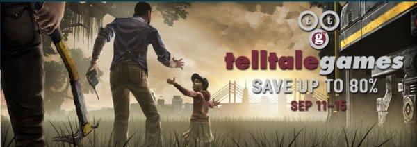 STEAM / DRM Free - Telltale Weekend @ Gamersgate - The Walking Dead / Sam & Max / Monkey Island 80% reduziert / ab 0,80€