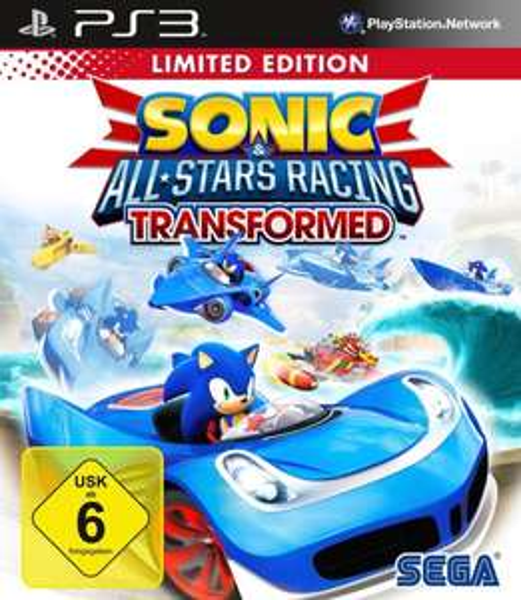 Sonic & SEGA All-Stars Racing Transformed PS3 Neu & Deutsch für 16,90 inkl. Versand