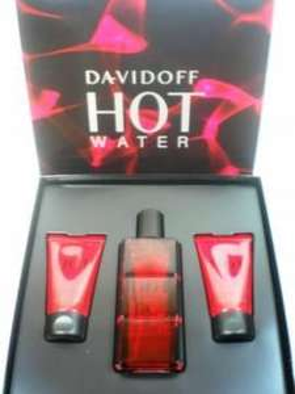 Davidoff Hot Water 110ml + Duschgel + After Shave (je 50ml) bei Amazon.