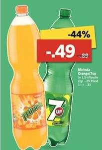 [LIDL] Mirinda & 7 Up für je 49cent