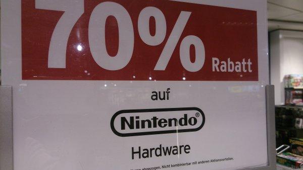 [lokal] Karstadt Dresden 70% auf Nintendo Spiele und Hardware