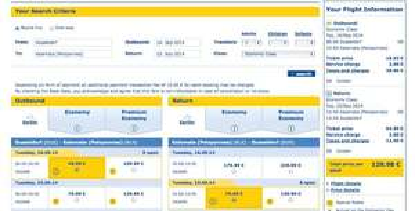 Fliegenpreise von Condor -  Peloponnes (Kalamata) ab DUS für nur 130Euro retour