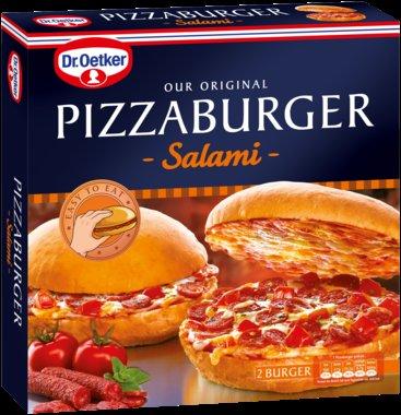 Dr. Oetker Pizzaburger bei real Mainz-Bretzenheim