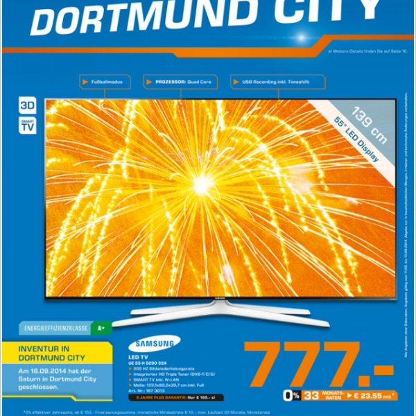 Lokal Dortmund City - Samsung UE 55 H 6290