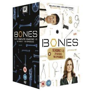 Bones - die Knochenjäger Staffel 1-5 [29 x DVD] für ca. 42.83€ @ amazon.uk