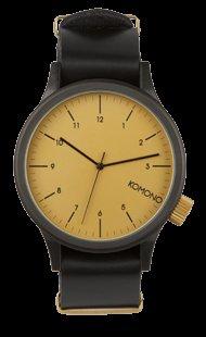 KOMONO Magnus Uhr black gold