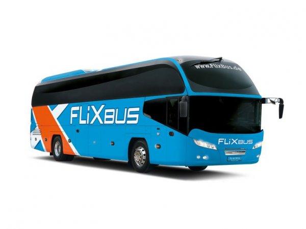 Flixbus- 23 Strecken ab 9€